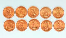 More details for 800 pre-decimal halfpenny coins all 1965 uncirculated, near mint condition