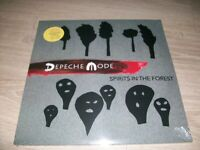 DEPECHE MODE SPIRITS IN THE FOREST 3 LP COULEURS (marbled vinyl) NEUF SCELLE