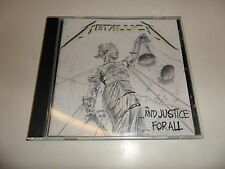 Cd   Metallica  ‎– ...And Justice For All
