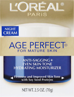 L'Oreal Paris Age Perfect Facial NIGHT  Cream FRESH new in box