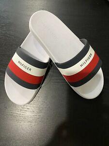TOMMY HILFIGER Men's Logo Slide Sandal Flip Flop Slipper Size 8/9/10/11/12