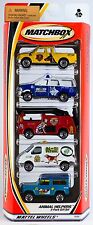 Matchbox Animal Helpers 5 Pack 2001 NEW K-9 Patrol Land Rover Ford Merryweather