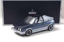 "1:18 Norev VW Golf MK1 Cabriolet ""BEL AIR"" 1992 blue NEW bei PREMIUM-MODELCARS"