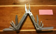 New Warranty Replacement Leatherman Rebar 17 function multitool Fast Ship Silver