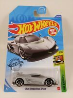 2020 Koenigsegg Jesko - Silver | HW Exotics 3/10 Hot Wheels 228/250