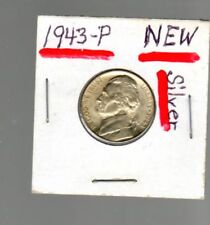 1943 P Silver Nickel 5 Cent coin