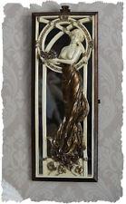 SPECCHIO a parete BELLE EPOQUE Dame Nouveau personaggio in rilievo specchio donne personaggio
