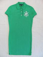 Ralph Lauren Hunter Jumper Equestrian Dress- Polo Tiller Green Size M -NWT $398