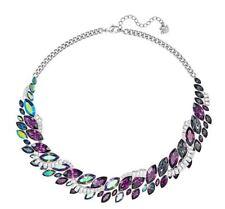 NIB $249 Swarovski Cosmic Medium All-around Statement Necklace #5222339