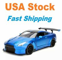 "Fast And Furious Brian's 2009 Nissan GT-R R35, JADA, Diecast Toy Car, 5.5"", 1:32"