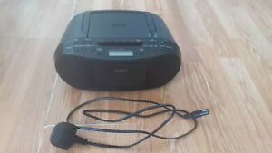 Sony CFD-S70 MP3 CD, Radio AM/FM , CASSETTE Stereo Boombox With Power Cable