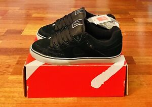 'eS ES-ONE Eric Koston Vulc Black/Grey Skateboarding Shoes Size 10.5 RARE NOS