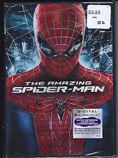 NEW Marvel The Amazing Spider-Man Movie Superhero DVD Digital Copy UltraViolet