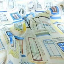 Meter Digital Printed 100%Pure Silk Chiffon Fabric Italian Vintage Free Zip
