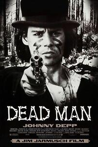DEAD MAN (1996) ORIGINAL MOVIE POSTER  -  ROLLED