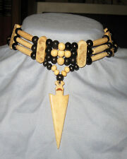 Handmade Native American Arrowhead Choker Necklace NWOT