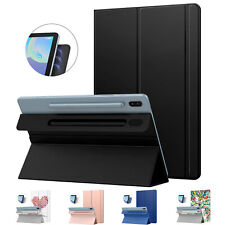 Magnetic Adsorption Smart Folio Case Cover for Samsung Galaxy Tab S6 / S5e 2019
