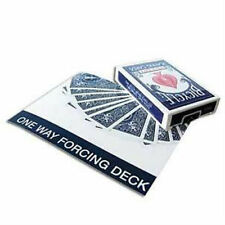 One Way Forcing Deck - Blue - Bicycle Playing Cards - Magic Tricks - New
