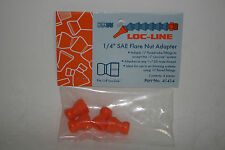 """Loc-Line 1/4"""" Hose 7/16""""-20 Male SAE Flare Nut Adapter 41414 NEW!!!"""