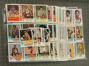 1973-74 Topps Basketball Complete Set (264) w/ Wilt Chamberlain Oscar Robertson