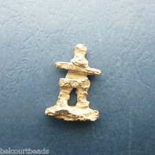 Sterling Silver .925 Raw Unpolished Inukshuk 8 Gr of Silver Beautiful Keepsake