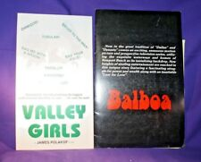 The Vals & Balboa publicity promotion material JAMES POLAKOF Valley Girls
