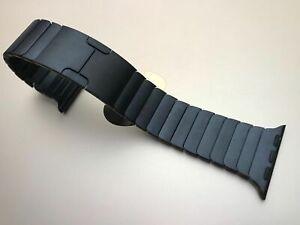 Genuine Original apple watch bands 38mm/40mm Link Bracelet - Black 90%