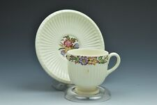 Wedgwood Edme Cavalier Footed Demitasse Cup and Saucer