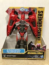 Transformers Toys Bumblebee Movie Mission Vision Shatter Action Figure New!