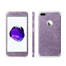 Glitzerfolie iPhone 7 Plus / 8 Plus Skins Bling Glitter Full Body Schutz Folie