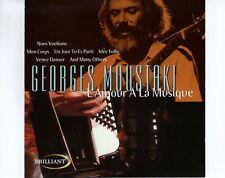 CD GEORGE MOUSTAKIL'amour a la musiqueUK 1999 EX+  (A4726)