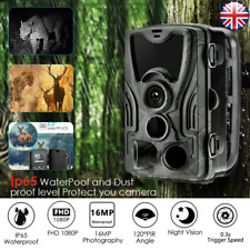 16MP Hunting Trail Camera HD 1080P Wildlife Scouting Cam Night Vision IP65 2019