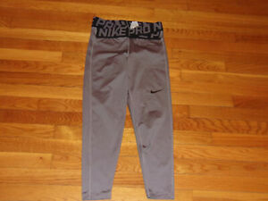 NIKE PRO DRI-FIT CROSSOVER WAISTBAND TRAINING TIGHTS WOMENS SMALL EXCELLENT COND