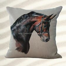 equine horse equestrian dining chair cushion covers for throw