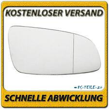 Spiegelglas für OPEL ASTRA H 2004-2008 rechts Beifahrerseite asphärisch