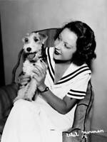 American Actress And Singer Ethel Merman With A Small Terrier Circa OLD PHOTO