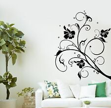 Wall Decal Flowers Patterns Room Home Decoration Vinyl Stickers (ig2837)