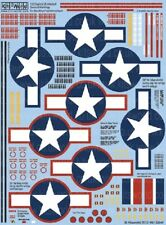 WARBIRD DECALS 1/32 B25/17/26 General Stenciling & Stars & Bars WBS132047