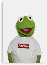 41548d06 Kermit Supreme Art For Home Decor Wall Art On Canvas 24x30 Limited Numbered  1-5