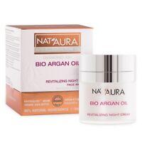 Nat'Aura NATURAL Revitalizing Night Cream 45+ With Bio Argan Oil 50 ml