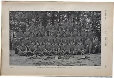 More details for 1915 ww1 print group of signallers of the 1st scots guards