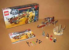 9496 LEGO Desert Skiff – 100% Complete w box & Instructions EX COND 2012