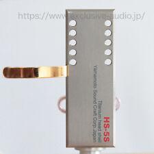 Yamamoto Sound Craft Titane Boîtier de tête HS-5S avec Haute Qualité 6N fils de cuivre