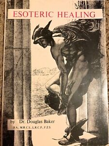 ESOTERIC HEALING by Douglas Baker 1975 Beautiful Pictures & Graphs