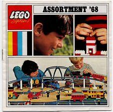 VINTAGE LEGO oggetti effimeri-CATALOGO ASSORTIMENTO 1968 (GB Edizione senza i prezzi) #1