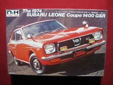 1974 Subaru Leone Coupe 1400 GSR 1:24 Doyusha Model Kit Nostalgic Heroes Rare