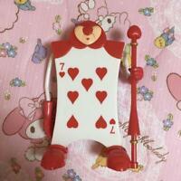 "Tokyo Disney Alice in Wonderland Heart Red Card Figure Candy Box 6.29"""