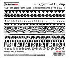 Darkroom Door Background Stamp Tribal
