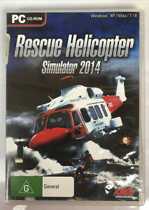 3154 Rescue Helicopter Simulator 2014 PC Game In Good Condition