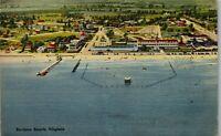 Buckroe Beach VA Arial View Vintage Postcard BB1